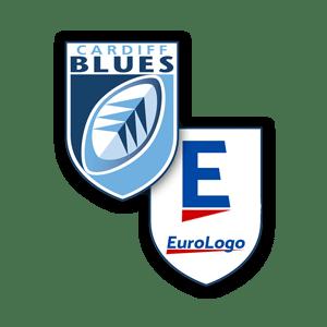 Cardiff Blues and Eurologo