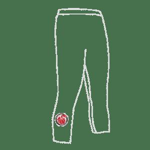 Basketball Wales 3Qtr Leggings