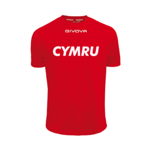 Basketball Wales FIBA Approved Warm-Up T-Shirt