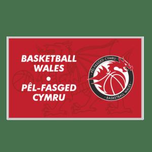 Basketball Wales Flag