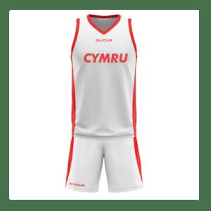 Basketball Wales Replica Kit