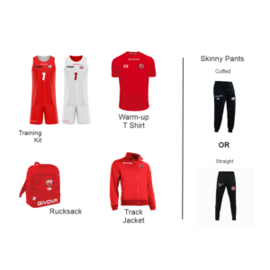 Basketball Wales Starter Bundle 1