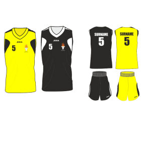 Brecon Basketball Playing Kit
