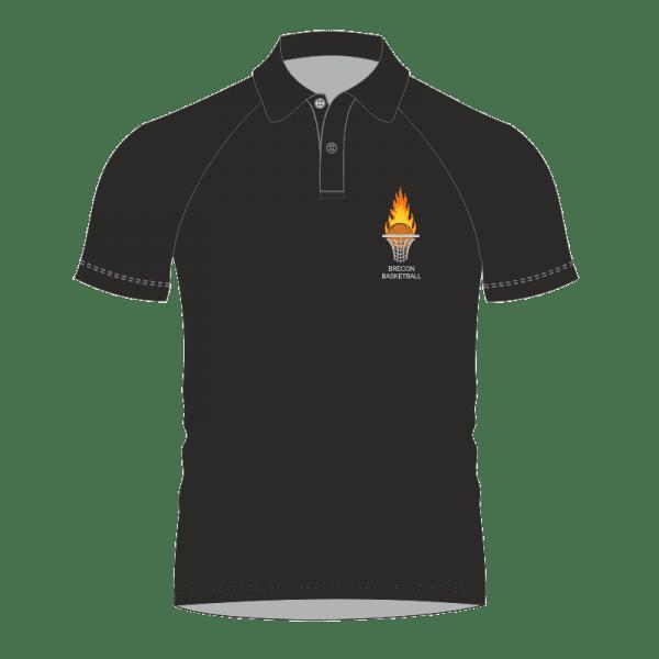 Brecon Basketball Polo Shirt