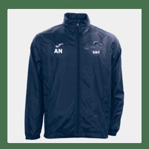 Bridgend College Sports Department Rain Jacket