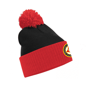 Bridgend Karate Contrast Bobble Hat