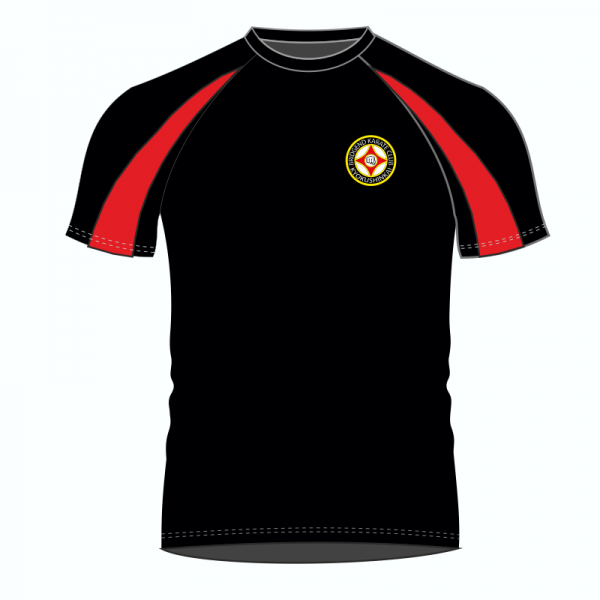 Bridgend Karate Contrast T Shirt