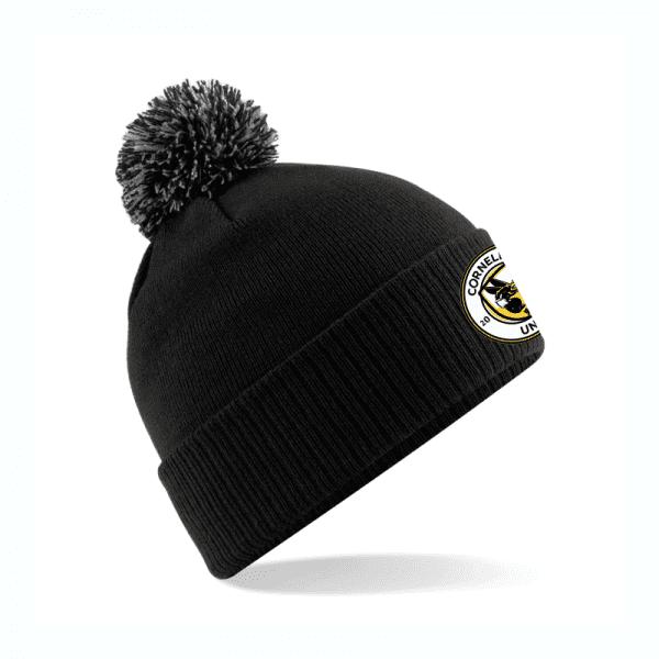 Cornelly Utd FC Bobble Hat