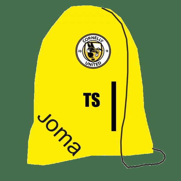 Cornelly Utd FC Drawstring Bag