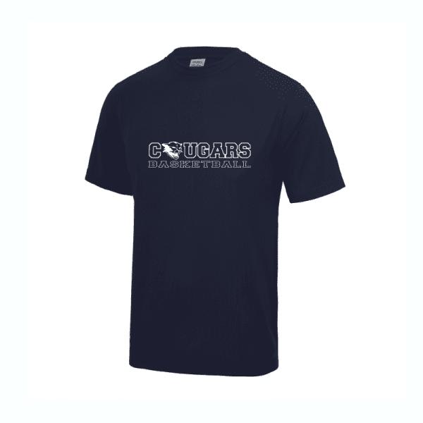 Cougars Basketball T Shirt
