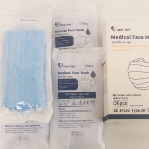 COVID-19 PPE 3 Ply Medical Face Mask