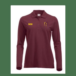 Groes Farm Long Sleeved Polo Shirt