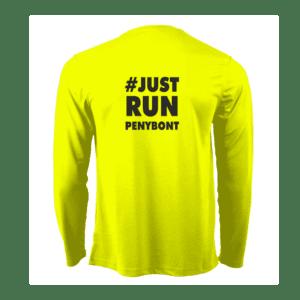 Just Run Penybont Long Sleeve T Shirt
