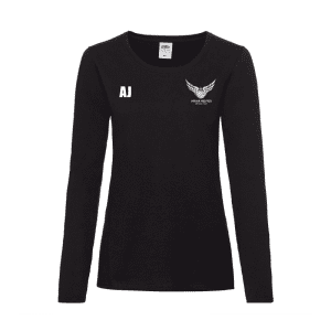 Miskin Magpies Netball Long Sleeve T-Shirt
