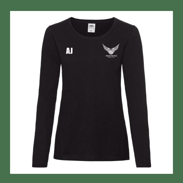 Miskin Magpies Netball Long Sleeve T-Shirt