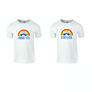 NHS Thank You Rainbow T-Shirt