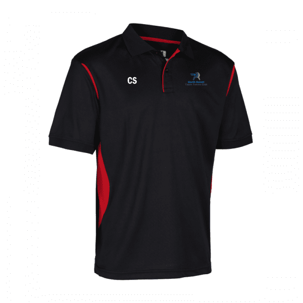 North Gwent Table Tennis Contrast Polo Shirt