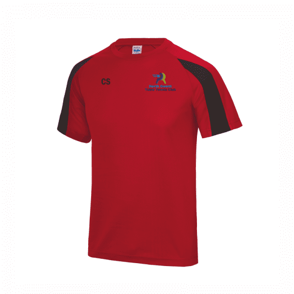 North Gwent Table Tennis Contrast T Shirt