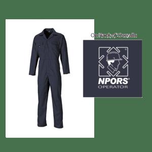 NPORS Operators Overalls