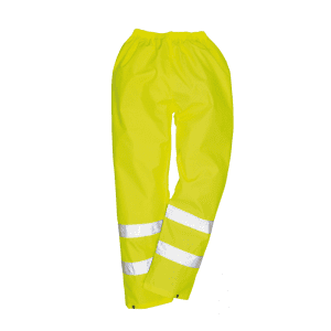 NPORS Staff Hi-Vis Waterproof Trousers