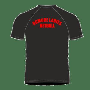 Ogmore Netball Contrast T Shirt