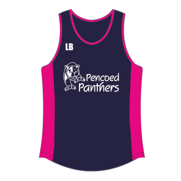 Pencoed Panthers Affiliated Running Vest