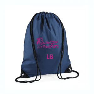 Pencoed Panthers Drawstring Bag