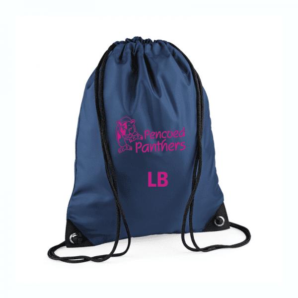 Pencoed Panthers Drawstring Bag