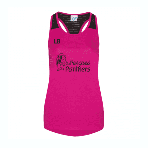 Pencoed Panthers Racerback Vest