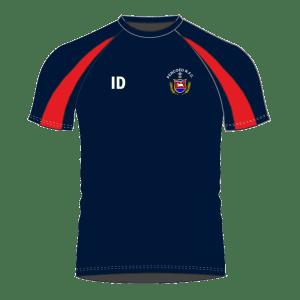 Pencoed RFC Minis and Juniors Contrast T Shirt