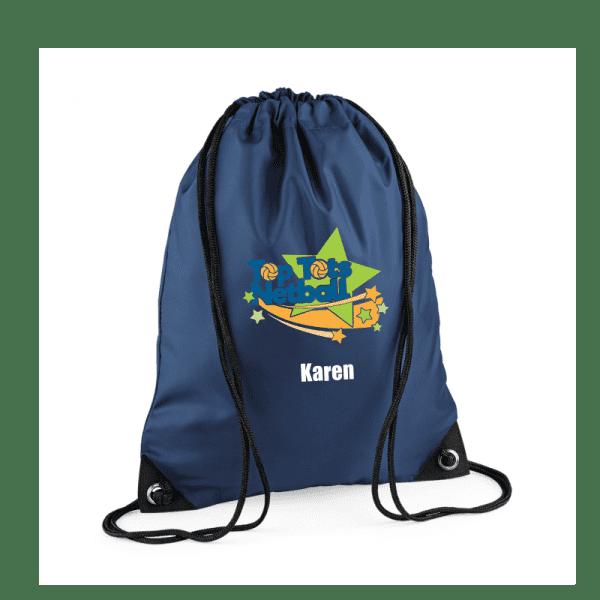 Top Tots Netball Drawstring Bag