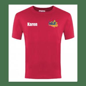 Top Tots Netball T Shirt