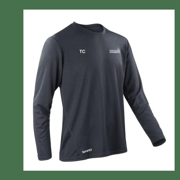 Porthcawl Runners L/S T Shirt