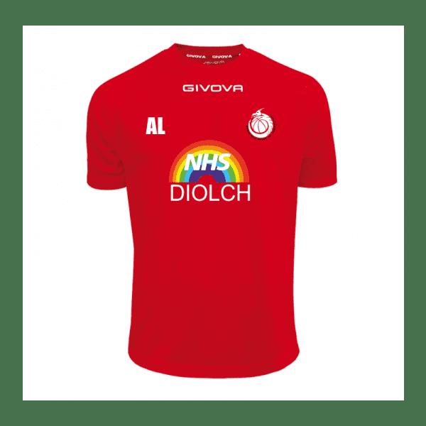 Basketball Wales NHS T-Shirt
