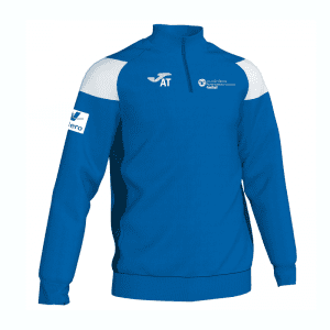Pembrokeshire College-Football Crew III Qtr Zip Top