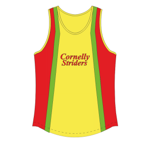 Cornelly Striders Running Vest - TriSportswear